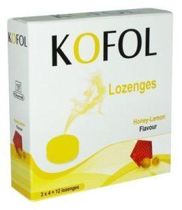 Кофол с мед и лимон